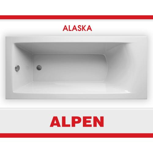 Alpen ALASKA 160х70 Ванна акриловая