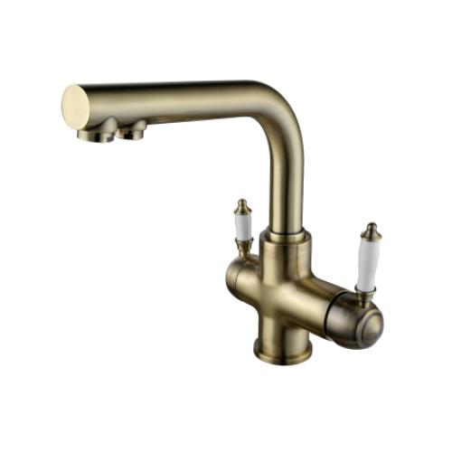 Смеситель Lemark Villa LM4861B для кухни с подключением к фильтру с питьевой водой бронза