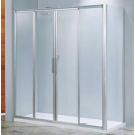 NOVELLINI Душевая дверь LUNES 2A 156-162х190 проф хром. стекло clear