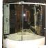 BALTECO Шторка на ванну Linea 140 левая