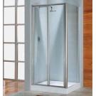 NOVELLINI Душевая дверь LUNES S 96-102 профиль белый стекло Aqua