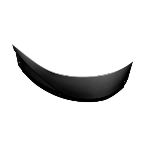 Панель фронтальная Aquanet Graciosa 150 L черная