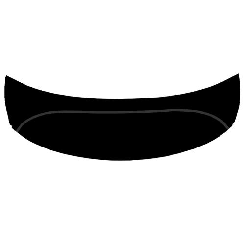 Панель фронтальная Aquanet Arona 150 черная