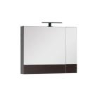 Зеркальный шкаф Aquanet Нота 75 венге