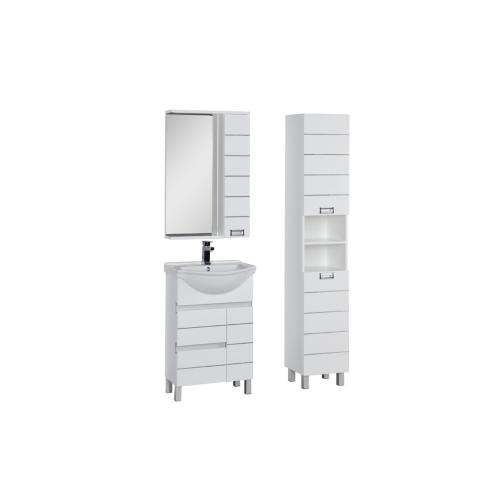 Набор мебели для ванной Aquanet Доминика 55 белый