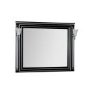 Зеркало Aquanet Паола 120 черный/серебро