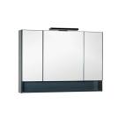 Зеркальный шкаф Aquanet Виго 120 сине-серый