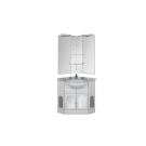 Набор мебели угловой для ванной Aquanet Ринконера Европа 70 белый (серый)