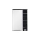 Зеркальный шкаф Aquanet Доминика 60 LED черный