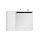 Зеркальный шкаф Aquanet Данте 60 белый (1 навесной шкафчик L)