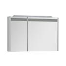 Зеркальный шкаф Aquanet Лайн 90 R белый