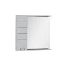 Зеркальный шкаф Aquanet Доминика 90 R LED белый
