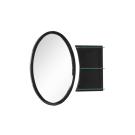 Зеркало Aquanet Опера L/R 70 черный