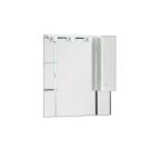 Зеркальный шкаф Aquanet Ордонез 90 белый