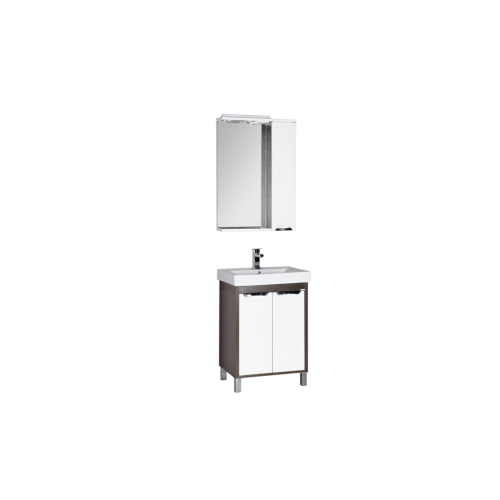 Набор мебели для ванной Aquanet Гретта 60 венге (2 дверцы)
