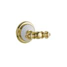 Крючок двойной PALAZZO Золото и керамика Boheme 10106