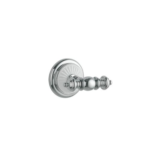 Крючок двойной VOGUE Хром и керамика Boheme 10136