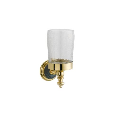 Стакан для зубных щеток PALAZZO Золото и керамика Boheme 10154