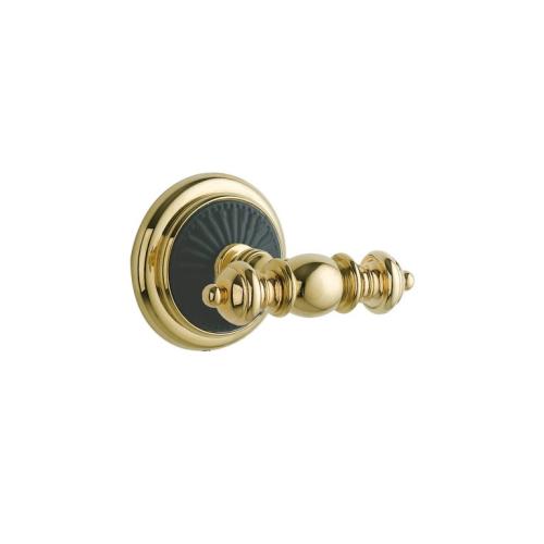 Крючок двойной PALAZZO Золото и керамика Boheme 10156