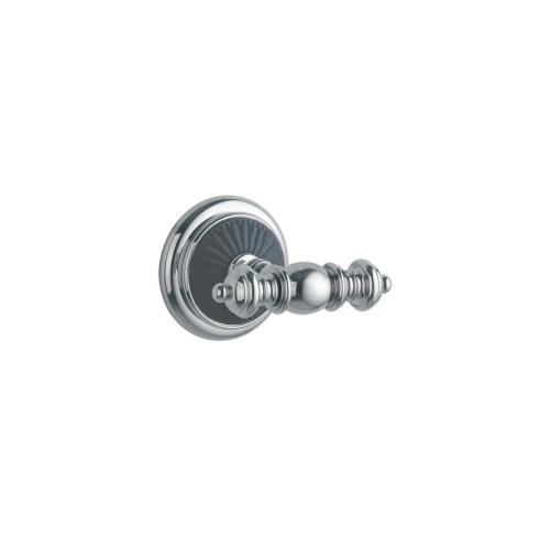 Крючок двойной VOGUE Хром и керамика Boheme 10186
