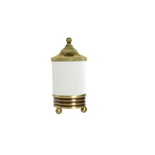 Настольный стакан для ватных дисков Hermitage Boheme 10334 бронза
