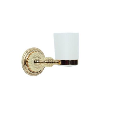 Стакан для зубных щеток Hermitage Boheme 10353 золото