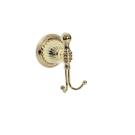 Крючок двойной Hermitage Boheme 10355 золото