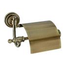 Boheme 10601 Держатель для туалетной бумаги с крышкой MEDICI бронза
