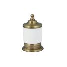 Boheme 10626 Стакан для ватных дисков настольный MEDICI бронза