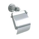 Держатель для туалетной бумаги с крышкой Murano хром Boheme 10901
