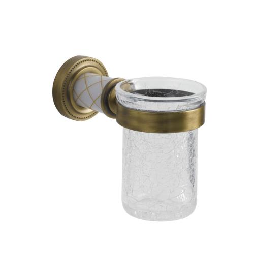 Стакан для зубных щеток Murano бронза Boheme 10904