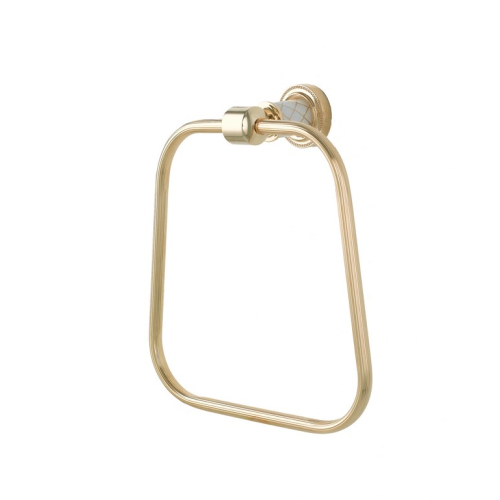 Держатель для полотенца Murano золото Boheme 10905