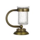 Настольный стакан для зубных щеток Murano бронза Boheme 10911