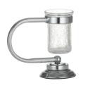 Настольный стакан для зубных щеток Murano хром Boheme 10911