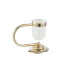 Настольный стакан для зубных щеток Murano золото Boheme 10911