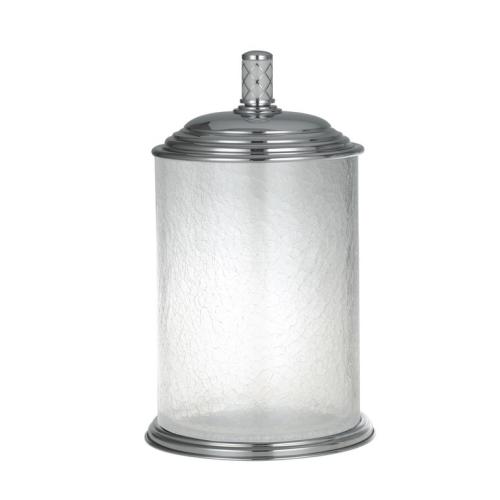 Ведро стекло Murano хром Boheme 10914