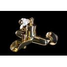 Смеситель для ванны VOGUE CRYSTAL Золото Boheme 213-CRST