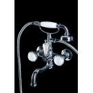 Смеситель для ванны (душевой комплект) SATINE Хром Boheme 273-ST