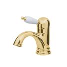Смеситель для умывальника Tradizionale Oro Золото и Керамика однорычажный Boheme 281