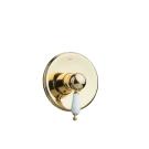 Смеситель встроенный Tradizionale Oro Золото и Керамика однорычажный Boheme 285