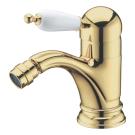 Смеситель для биде Tradizionale Oro Золото и Керамика однорычажный Boheme 286