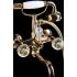 Смеситель для ванны (душевой комплект) FLORA Золото Boheme 293-FL
