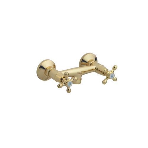Смеситель для душа Tradizionale Oro Золото и Керамика двурычажный Boheme 294