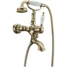 Смеситель для ванны (душевой комплект) Medici Ripresa Бронза с Керамикой однорычажный Boheme 303