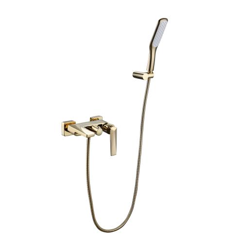 Venturo смеситель для ванны с душевым гарнитуром золото Boheme 383