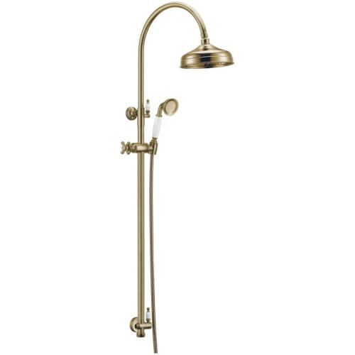 Стойка с верхним душем (25 см) Medici Boheme 401 бронза