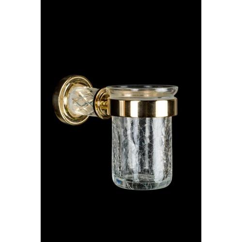 Стакан для зубных щеток MURANO CRYSTAL Золото Boheme 10904-CRST-G
