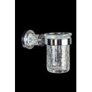 Стакан для зубных щеток MURANO CRYSTAL Хром Boheme 10904-CRST-CH