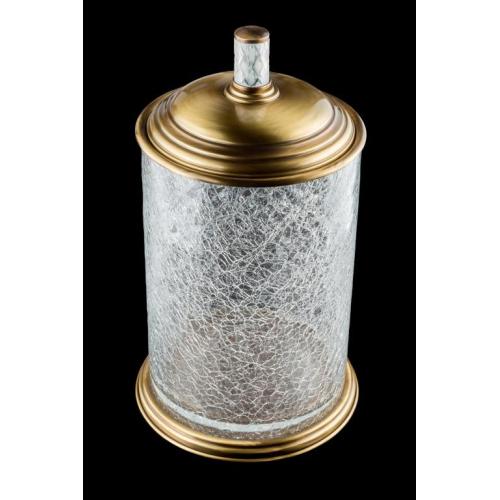 Ведро стекло MURANO CRYSTAL Бронза Boheme 10914-CRST-BR