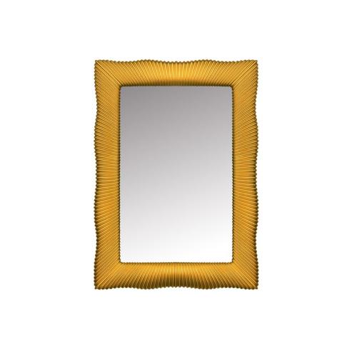 Зеркало прямоугольное золото 80x120 Boheme 518